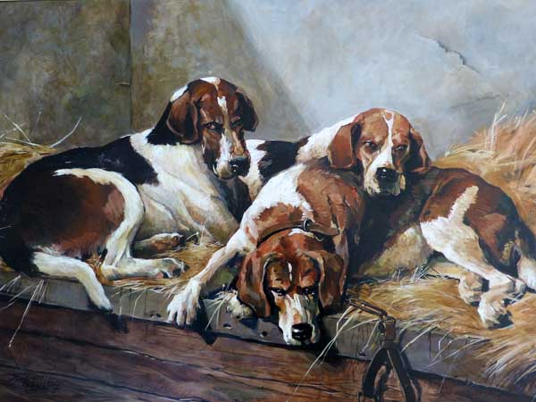 19th Century English Hounds - Replica