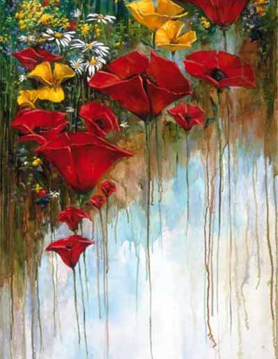 Long Stem Poppies