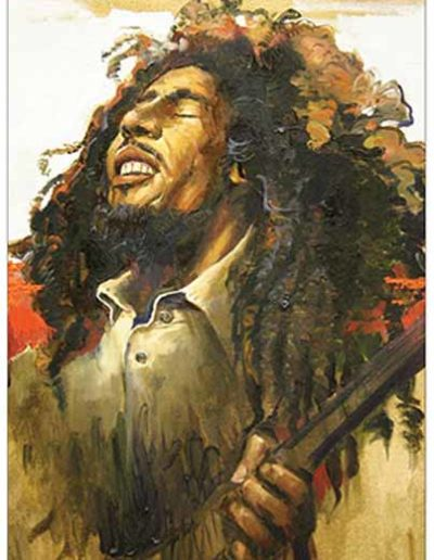 Passion for Painting Bob Marley