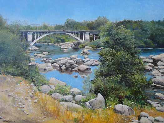 "Rainbow Bridge - 18"" x 24"""